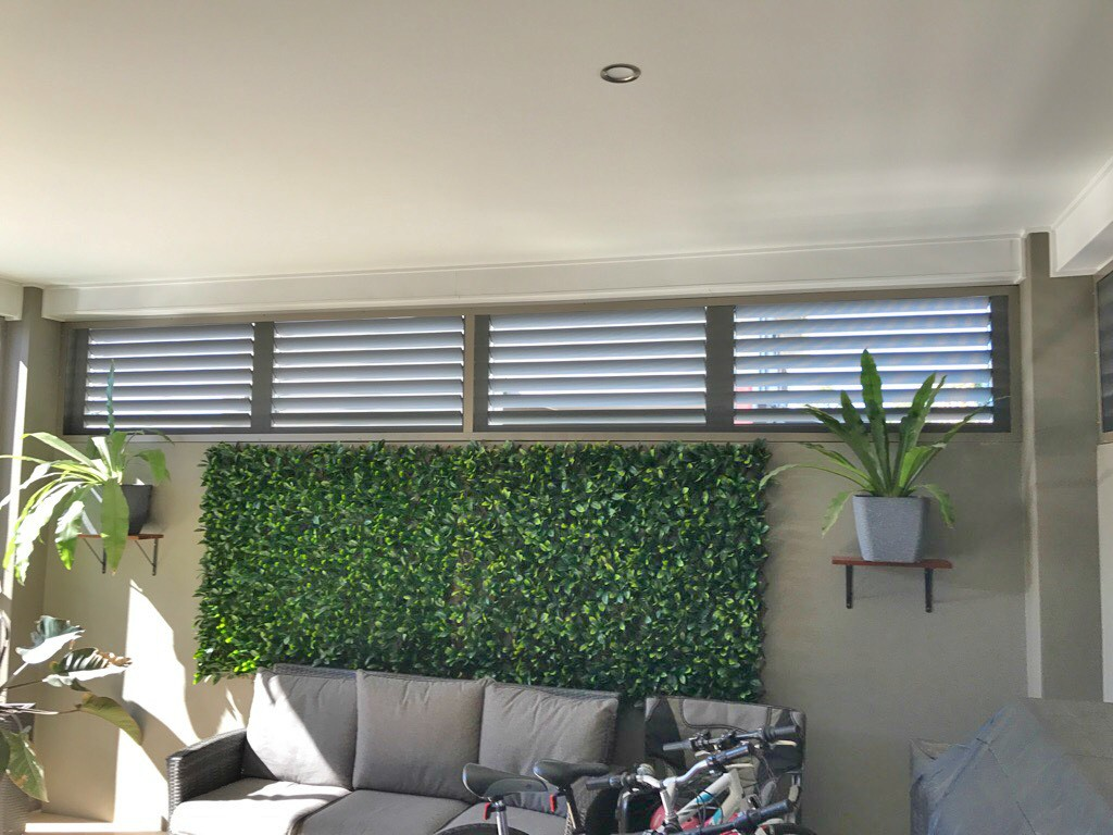 Feature Wall using Ambient Shutters